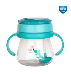 Canpol babies Inovatívny hrnček so slamkou Flip-Top 250 ml
