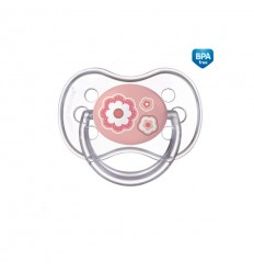 Cumlík utišujúci Newborn - silikón, symetrický