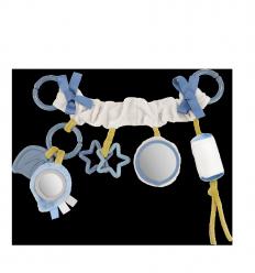 Canpol babies Plyšová hračka na kočík Sensory Toys červená