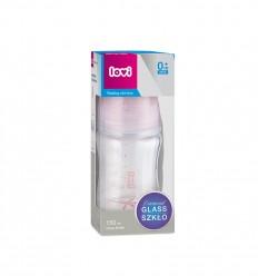 Lovi Kojenecká skleněná láhev Diamond Glass Baby Shower girl 150 ml 0m+