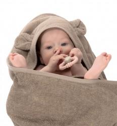 Canpol babies Osuška bavlna 100x100 cm sivá