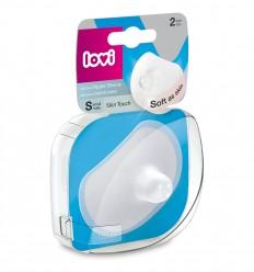 Lovi Chránič prsní bradavky silikonový velikost S 2 ks