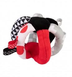Canpol babies Plyšová hračka knižka Sensory Toys