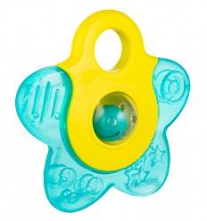 Canpol babies Chladiaca hryzačka s hrkálkou Kúzelná palička modrá